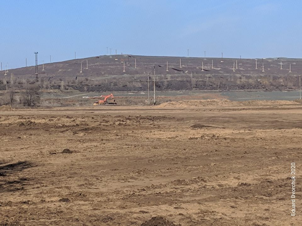 """""""SouthGOK"""" started construction work to expand the """"Ob'ednane"""" tailings ponds"""